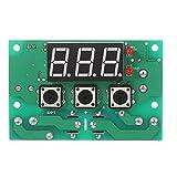KKmoon 12V Termostato Automatico Regolatore di Temperatura Modulo, 2 canali relè Output, Allarme di Temperatura Alta / Bassa