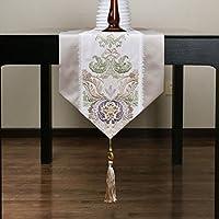 Sala da pranzo tavolo runner/letto corridore/tovaglia/panno che copre/striscia decorativa/ tavolo/tovaglia/ tavolo-A 32x220cm(13x87inch)