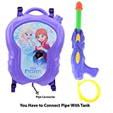 Zest 4 Toyz Holi Water Gun with High Pressure Holi Pichkari with Back Holding Tank, Holi 6.5 Litre -Frozen Princess Classic