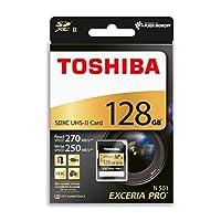 Toshiba Thn-N501G1280E6 Exceria Pro 128Gb Sdxc Uhs-Ii U3 270/250