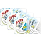 Harpic Pack de 2 Blocs Nettoyant WC Javel Citron Vert - Lot de 3