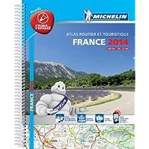 Atlas Routier France 2014 Michelin 100% Plastifié