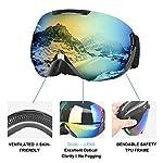 Charlemain-Maschera-da-Sci-Occhiali-da-Sci-OTG-Occhiali-da-Snowboard-Antivento-Anti-Fog-Protezione-UV400-Ampio-Angolo-di-Visione-per-a-Snowboard-Motocross-e-Altri-Sport-Invernali
