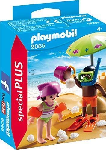 PLAYMOBIL 9085 - Kids mit Sandburg