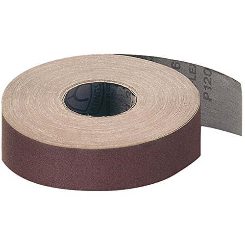 110 x 50000 mm Grain 320 Klingspor PL 31 B schleifrolle papier abrasif