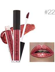 JACKY Lipstick Makeup Lips Metallic Lip Gloss (G)