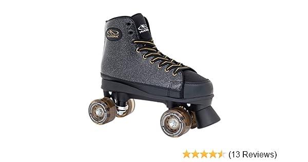Disco-Roller HUDORA Rollschuhe Roller-Skates Black Glamour Gr 36 13090