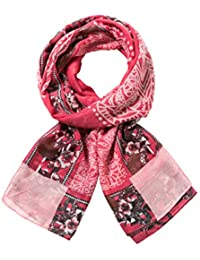 Desigual Women's Foulard_dusty Scarf, Red (New Fresa 3087), One Size (Manufacturer Size: U)