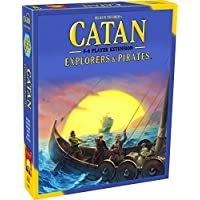Catan Studios MFG3076  Explorers and Pirates 5 and 6 Player Extension