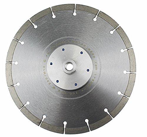 Diamantscheibe 230 mm mit Flansch M14 Trennscheibe randnah schneiden bündig schneiden