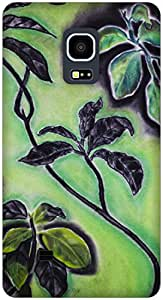 The Racoon Grip Nature Called hard plastic printed back case / cover for Samsung Galaxy Note Edge