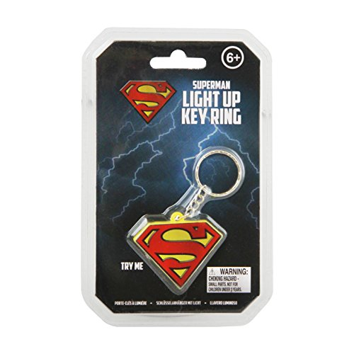 Paladone PP2896SM - Dc Comics Light-Up Portachiavi Superman