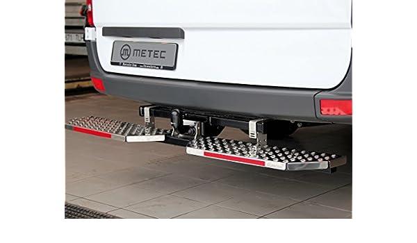Trittbretter Trittstufe Anhängerkupplung für Fiat Ducato Breite 60cm Edelstahl
