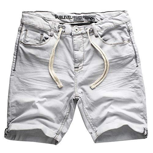 Sublevel Jogg Shorts-H1313I60688KG36-32
