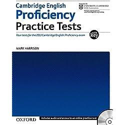 Cambridge English Proficiency Practice Tests with Key: Four Tests for Cambridge English: Proficiency