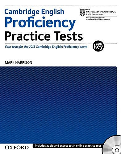 Cambridge English. Proficiency (CPE). Practice tests. Advanced. With key. Per le Scuole superiori. Con 2 CD Audio