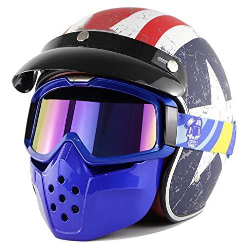 Fire wolf: ein motorrad - helm, und sie die oberfläche des double - helm, mit offroad - helm, gehörschutz vier (Maske Die Wolf Cartoon)