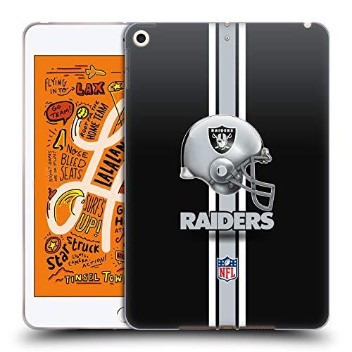 fizielle NFL Helm Oakland Raiders Logo Soft Gel Huelle kompatibel mit iPad Mini (2019) ()