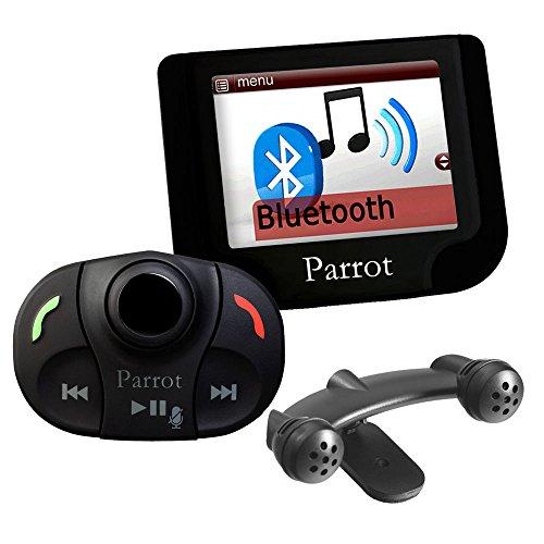 G.M. Production - Parrot Mki 9200 - Italie - Nouveau Kit mains libres Bluetooth MP3 USB iPod iPhone viva voix pour voiture toute marque [Câble consacré pour voiture non inclus, connexions ISO Standard du produit]