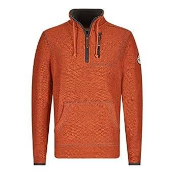 Weird Fish Thor Plain 1/4 Zip Tech Mac Sweatshirt: Amazon ...