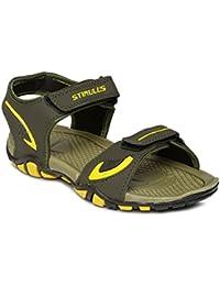 Paragon Men Mehandi-Yellow Casual Slipper