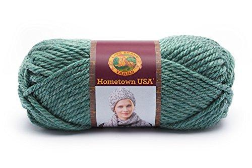 Lion Brand Yarn-Gomitolo Vanna's Choice, acrilico, Saint Louis, colore: salvia