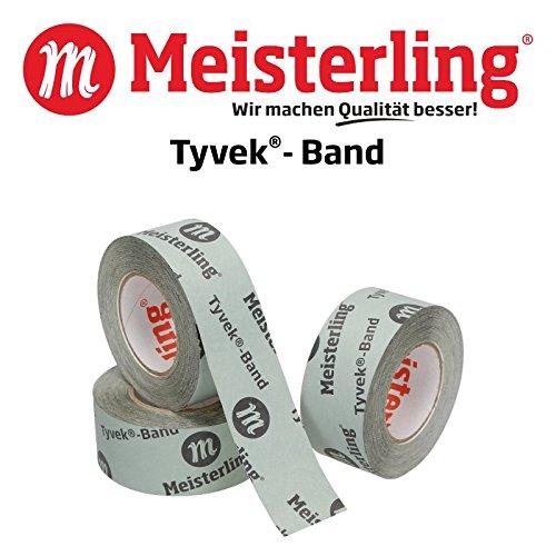 Meisterling Tyvek-Band für Unterspannbahn diffusionsoffen 60 mm x 25 m