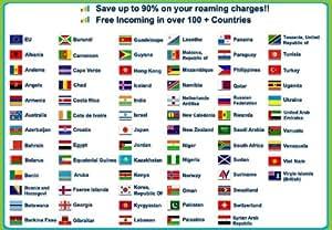TOGGLE MOBILE UK CARTE SIM avec £ 2,50 de crédit. Appels entrants en itinérance!