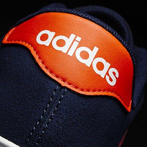 adidas Daily Team K, Scarpe da Ginnastica Unisex – Bambini Blu ( Maruni/Rojsol/Ftwbla)