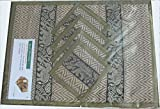 Thai Hand Made Reed place mat & coaster ...