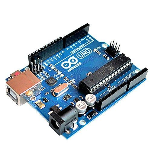 Tenflyer UNO R3 Desarrollo Junta microcontrolador MEGA328P ATMEGA16U2 Compat para Arduino