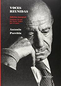 Voces reunidas par Antonio Porchia