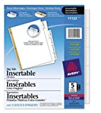 Best Avery Dividers - Avery AVE11122 - WorkSaver Big Tab Dividers Review