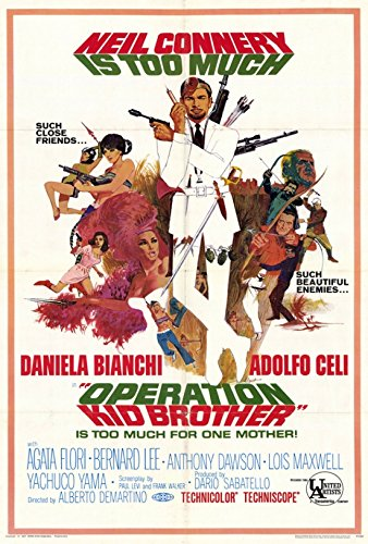 Operation Kid Brother Movie Poster (68,58 x 101,60 cm) (Operation Kid Brother)