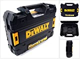 DeWalt Werkzeugkoffer TStak für DeWalt Akkuschrauber 18 V für 1,5 / 2,0 Ah Akkus