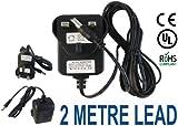 Adaptors4U Roberts Classiclite DAB Radio UK Plug Mains AC Adaptor Power Supply 9V