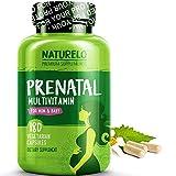Best Natural Prenatal Vitamins - NATURELO Prenatal Whole Food Multivitamin - with Natural Review