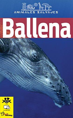 Ballena: Libro infantil con imágenes y datos asombrosos sobre la ballena, un animal marino fascinante. (Animales Salvajes nº 1) por Linda Gutierrez