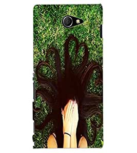 ColourCraft Creative Image Design Back Case Cover for SONY XPERIA M2