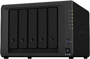 Synology Diskstation Ds1520 5 Bay Desktop Nas Gehäuse