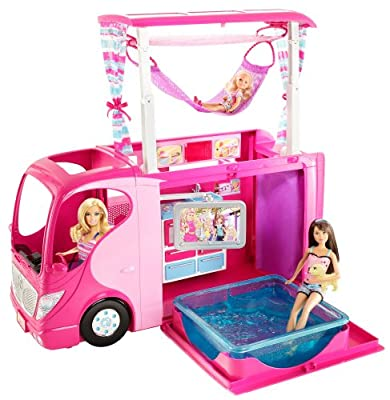 Barbie - Autocaravana Vacaciones (Mattel) de Mattel