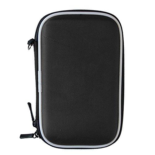 Futteral für Tragbare Externe Festplatte Tasche Etui Case Cover Hergestellt aus Eva-Schaum und Nylon für 2,5 Zoll Geräte