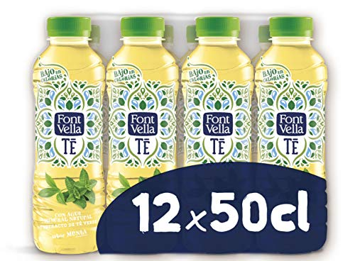 Font Vella Té Agua Mineral extracto té verde sabor