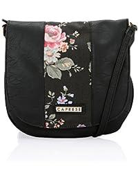 Caprese Women's Sling Bag (Black)