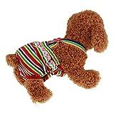 HuhuswwBin Pet Dog Fisiologici Pantaloni Pannolini, Pannolini Cane, Cane Pannolini, Strisce Femmina Dog Pet Pantaloni Sanitari Mutandine Pannolino Breve Biancheria Intima, per lei Pet