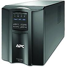 APC Smart-UPS - Gruppo di continuità (UPS) 1500VA Modello Tower - SMT1500I - Line Interactive, AVR, 8 uscite IEC-C13, Software di Schutdown Powerchute