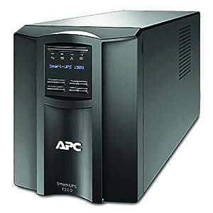 APC Smart-UPS SMT - Uninterruptible Power Supply 1500VA - SMT1500I - Line Interactive, AVR, LCD Panel, 8 Outlets IEC-C13, Shutdown Software