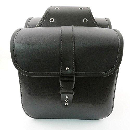 KIMISS 2pcs Universal Wasserdichte Motorrad Sattel Taschen, Schwanz Tasche Seite Tasche Werkzeug Tasche Cruise Fahrzeug Tasche