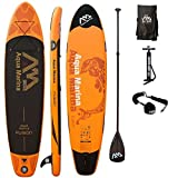 AQUA MARINA, FUSION+CARBON-Paddle+LEASH, Paddle Board, SUP, 330x75x15 cm