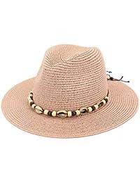 Verano Estilo De Verano Sombrero De Paja Sombrero De Clásico Playa Sombrero  De Sol con Cáscara 5e9c71bd39f1